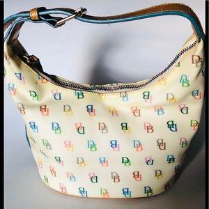 Dooney & Bourke Signature IT Bucket bag